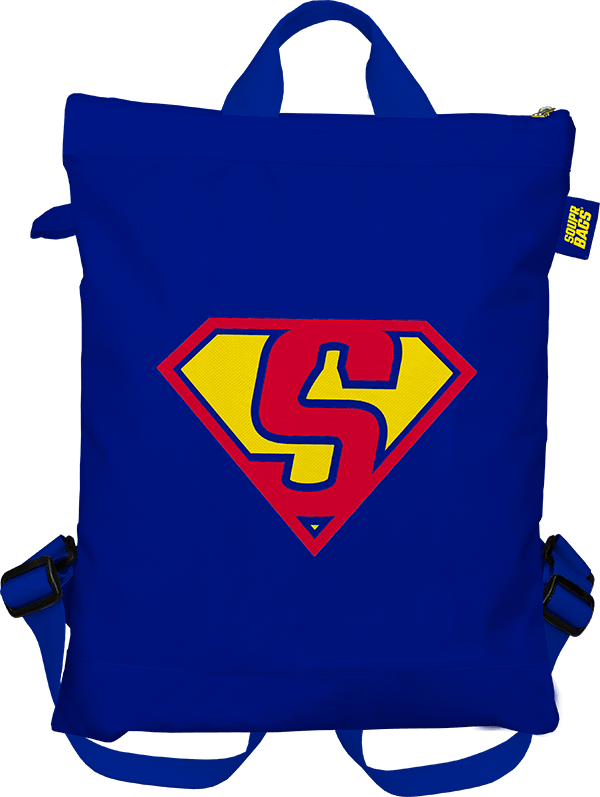 Souprbags - TROUPR [Reflex blue - Supermanv2] Front[1]